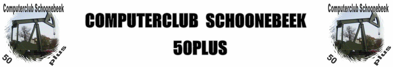 Computerclub Schoonebeek 50 Plus